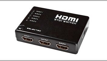 Switch HDMI 5 entradas